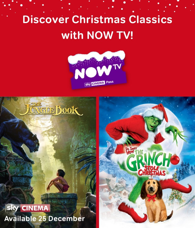 Watch Christmas movies on now tv