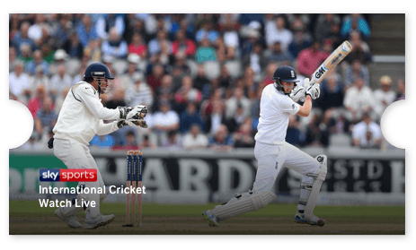 Watch Cricket on NOW TV