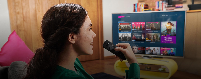 Image of the Smart Stick voice remote