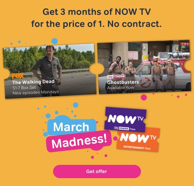 NOW TV Passes