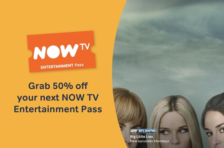 Get January deals with NOW TV