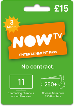 Give the gift of NOW TV
