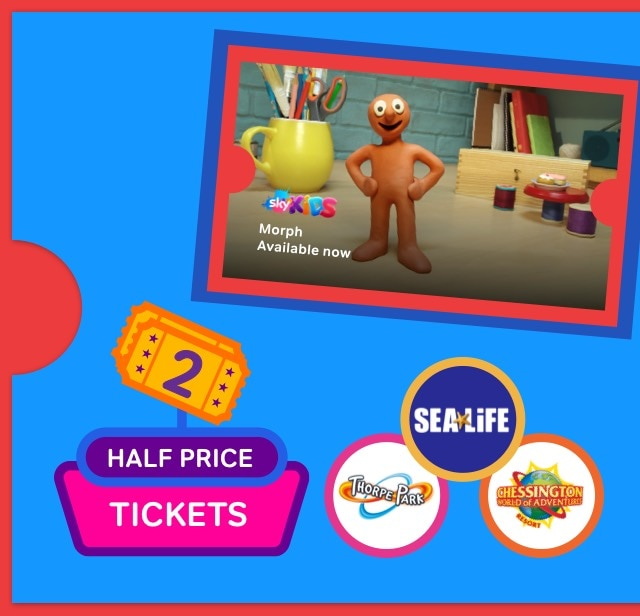 Watch kids TV shows with a NOW TV Kids Pass.