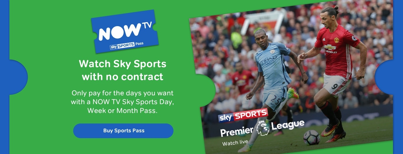 Watch Sky Sports with no contract
