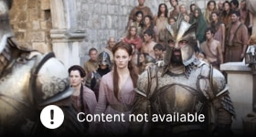 Game of Thrones season 2 episode 6, The Old Gods and the New.