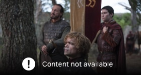 Game of Thrones season 4 episode 1, Two Swords.