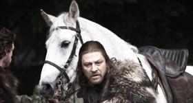 Game of Thrones season 1 episode 1, Winter Is Coming.