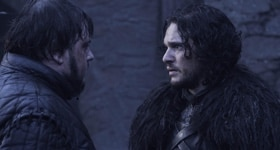 Game of Thrones season 4 episode 9, The Watchers on the Wall.