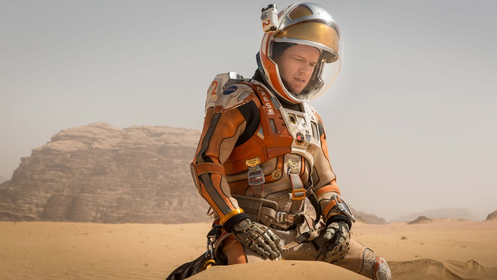 The Martian coming soon to NOW TV