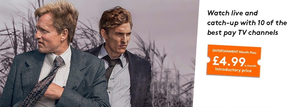 True Detective now streaming on NOW TV