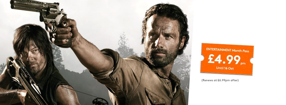 The Walking Dead now streaming on NOW TV