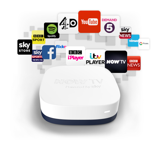 NOW TV Box & PLEX (RARflix) Installed Sky Movie BBC iPlayer 4OD YouTube New | eBay