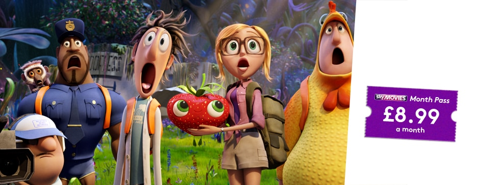 Cloudy with a Chance of Meatballs 2 now streaming on NOW TV