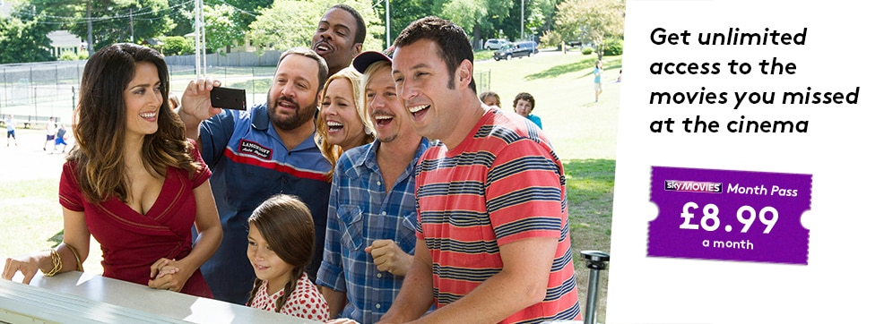 Grown Ups 2 now streaming on NOW TV