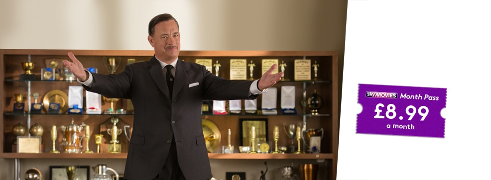 Saving Mr Banks now streaming on NOW TV
