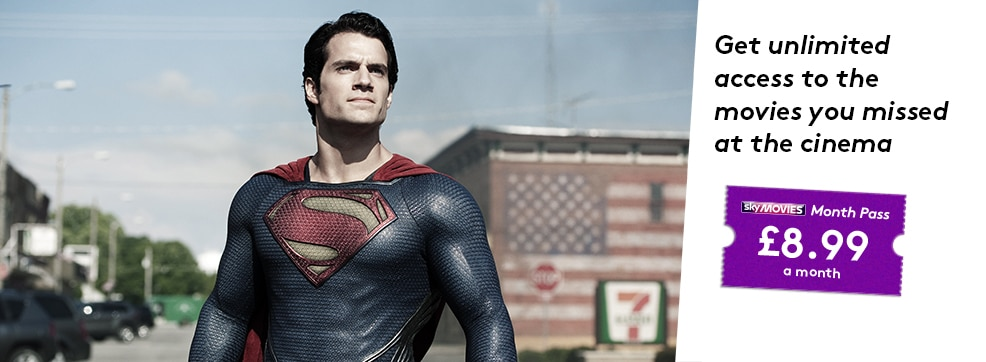 Man of Steel now streaming on NOW TV