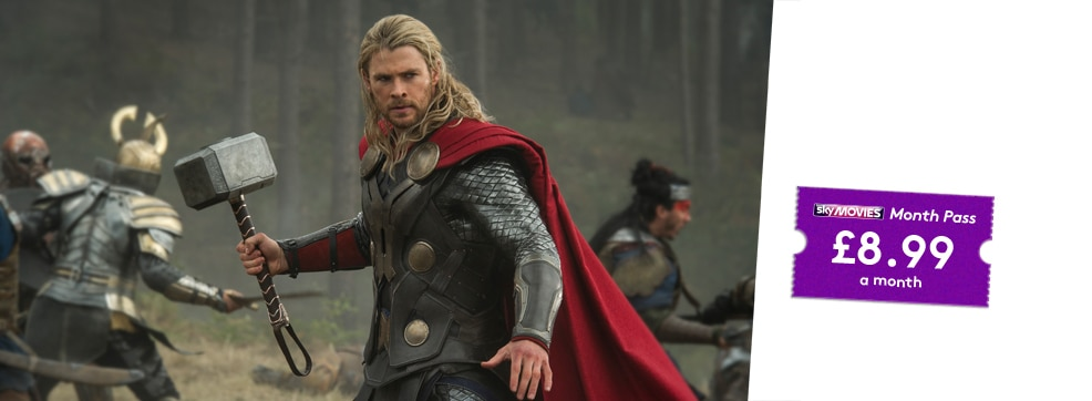 Thor The Dark World on NOW TV