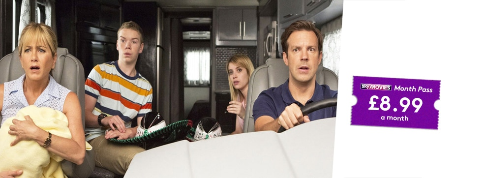 We're The Millers now streaming on NOW TV