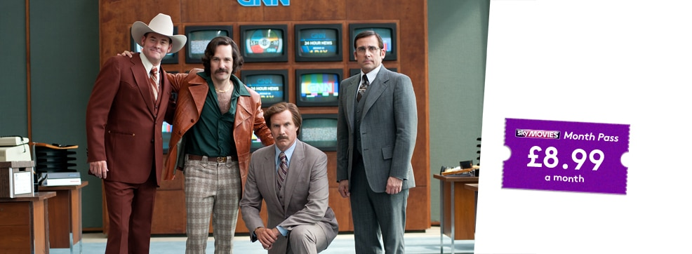Anchorman 2: The Legend Continues on NOW TV