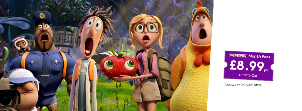 Cloudy with a Chance of Meatballs 2 on NOW TV