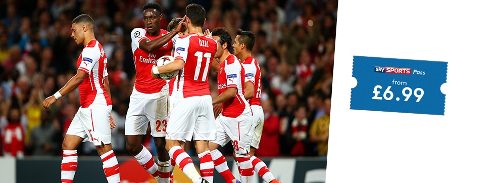 Anderlecht v Arsenal streaming live on NOW TV