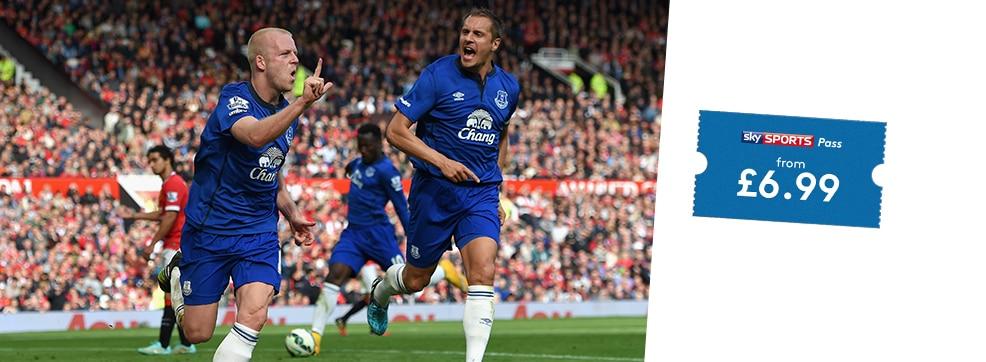 Burnley v Everton streaming live on NOW TV