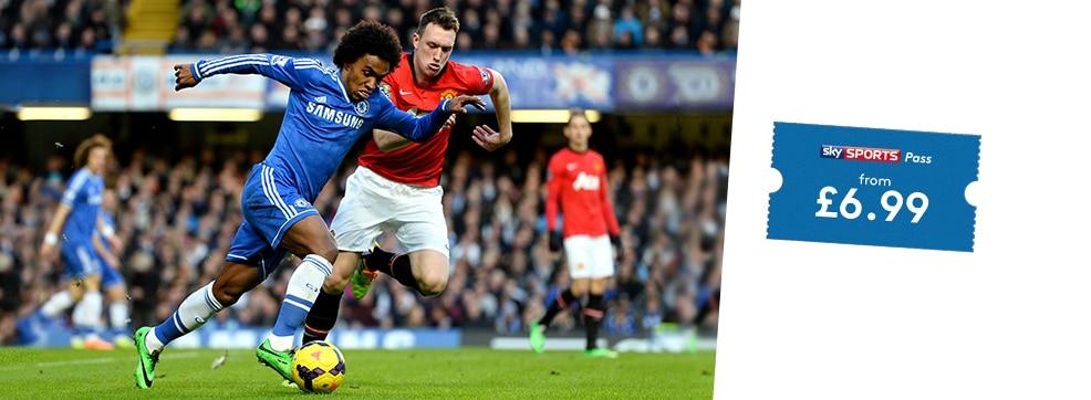 Man Utd v Chelsea streaming live on NOW TV