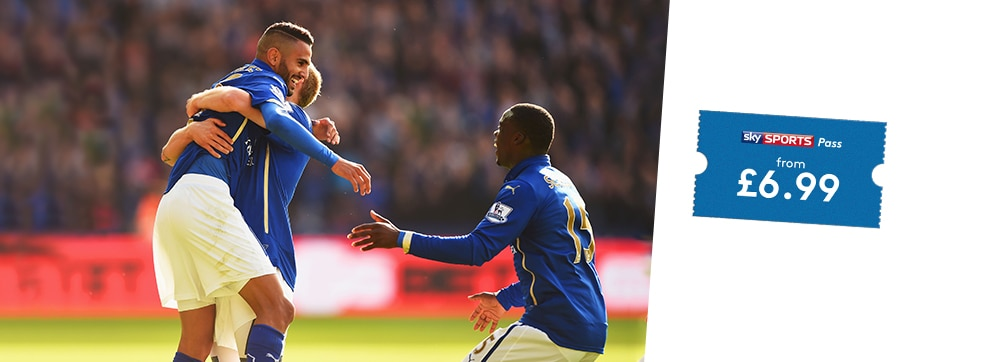 Swansea City v Leicester City streaming live on NOW TV