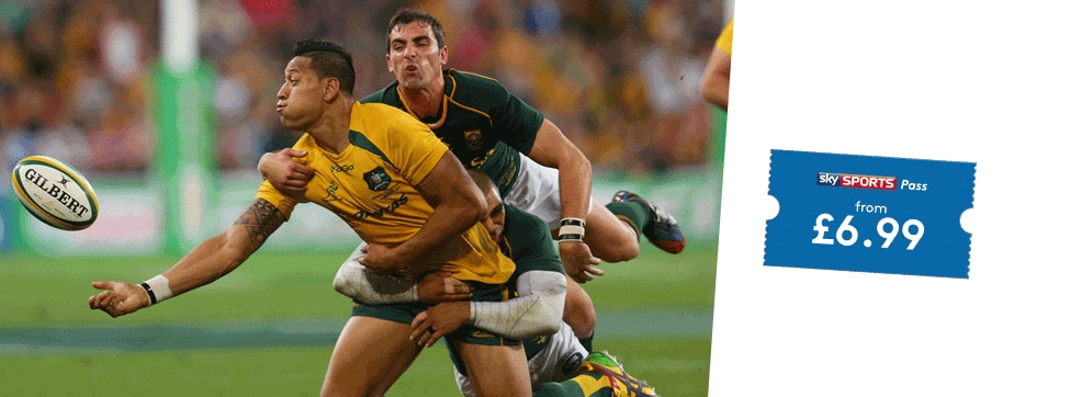 Australia v South Africa on NOW TV