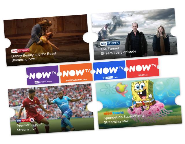 Stream loads of TV with a NOW TV Pass