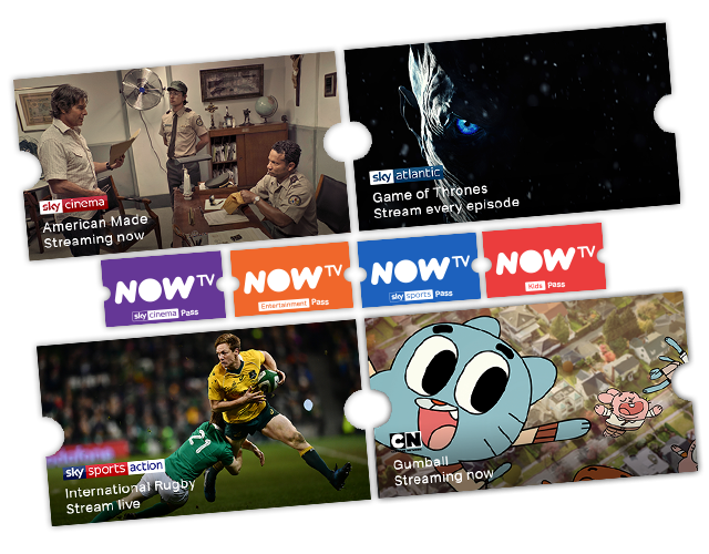 Stream awesome TV with NOW TV