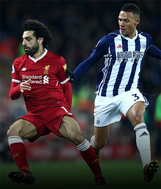 Watch West Brom v Liverpool on NOW TV