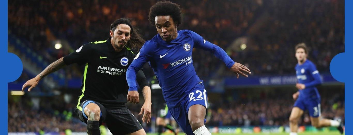 Watch Brighton v Chelsea  on NOW TV