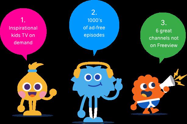 Kids TV features