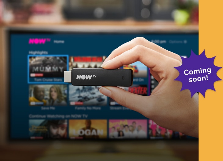 NOW TV Smart Stick Coming Soon