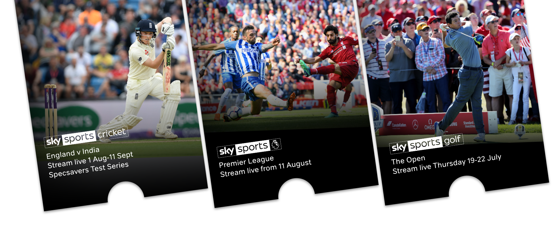 Watch Sky Sports online with a NOW TV Sky Sports Pass.