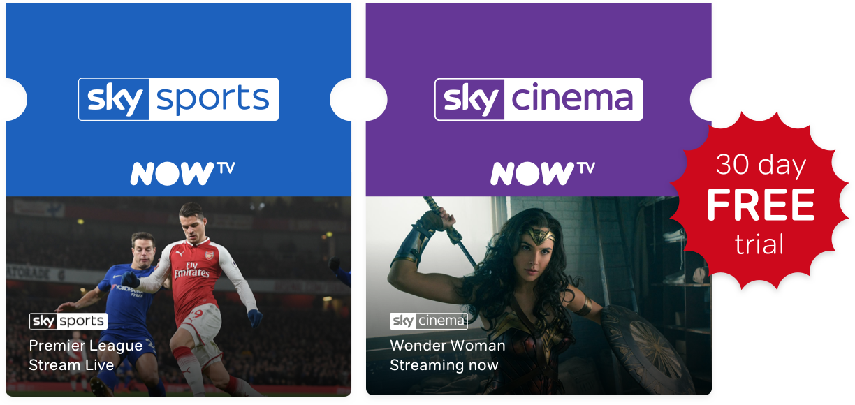 Sports and Sky Cinema offer asset