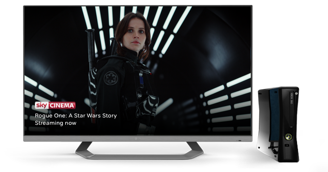 Watch Sky Cinema on your Xbox 360