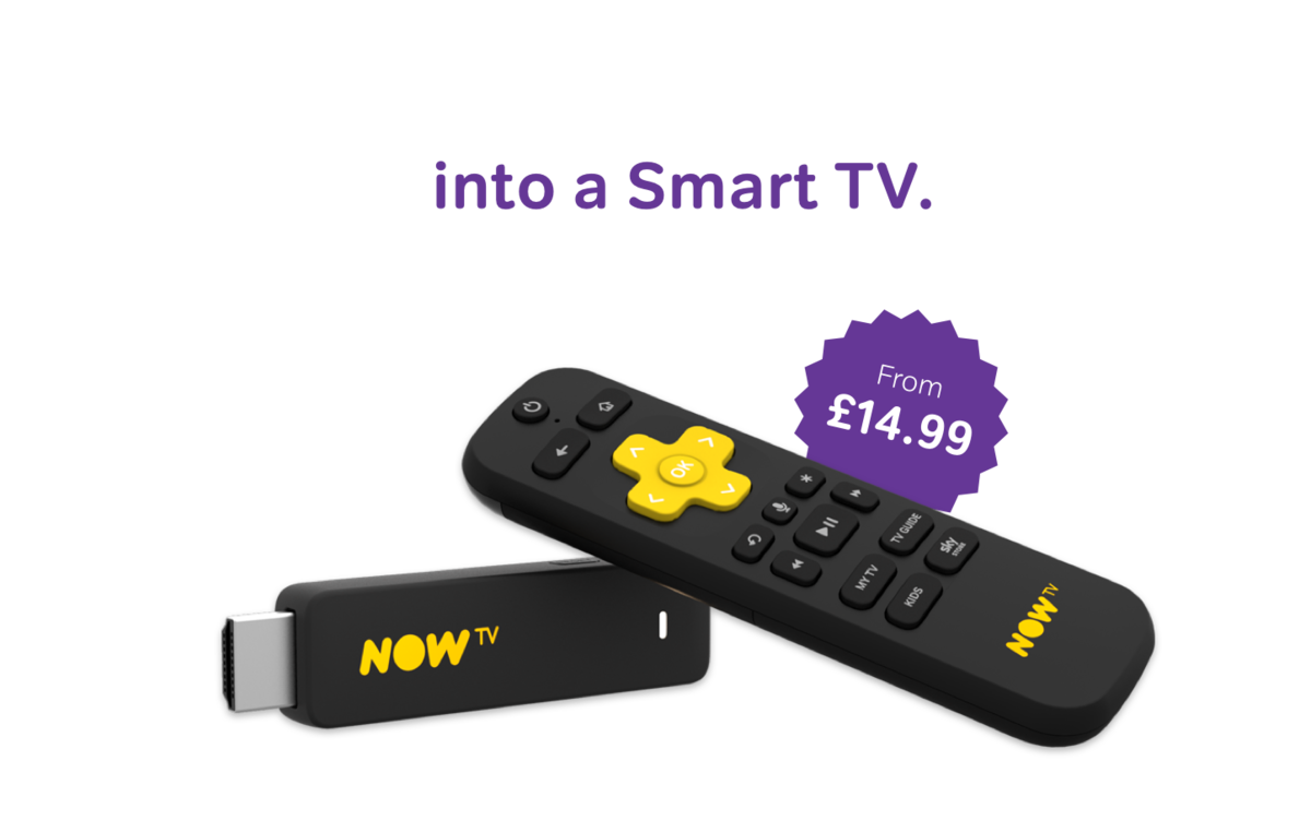 Get your NOW TV Smart Stick