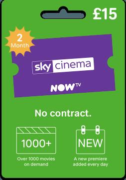 Sky Cinema Gift Card
