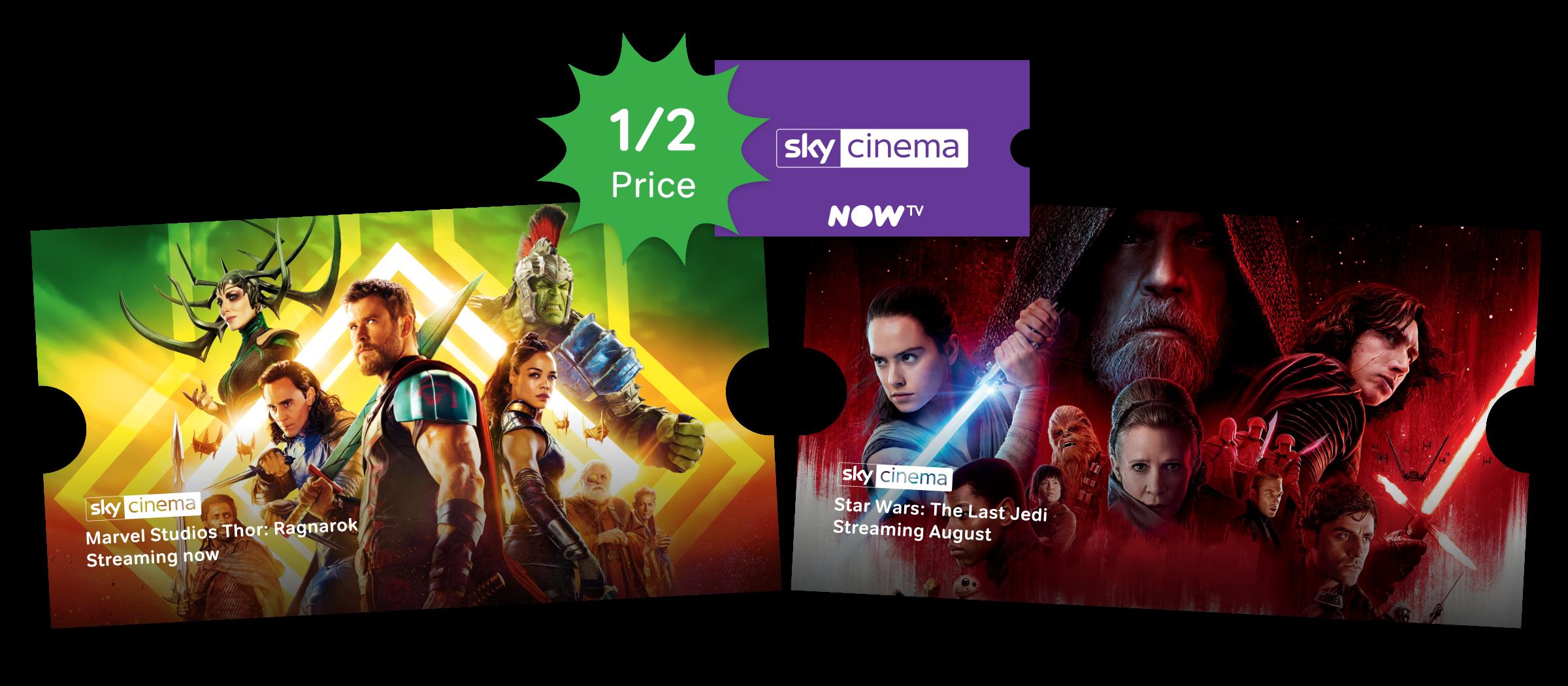 Watch Sky Cinema online with a NOW TV Sky Cinema Pass.