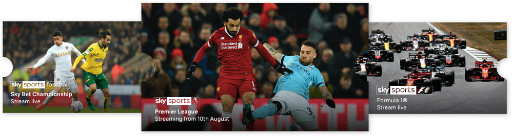 Watch Sky Sports online with a NOW TV Sky Sports pass