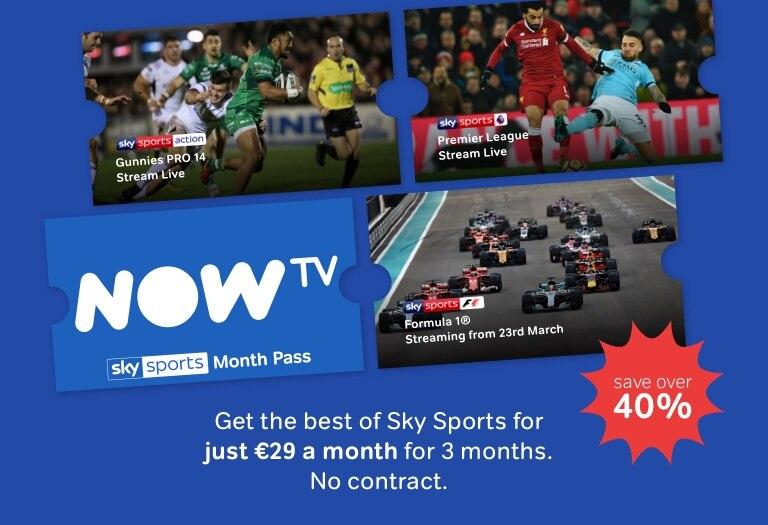 Watch Sky Sports on NOW TV