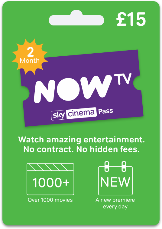 Sky Cinema Gift Card