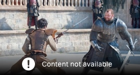 Game of Thrones season 4 episode 8, The Mountain and the Viper.