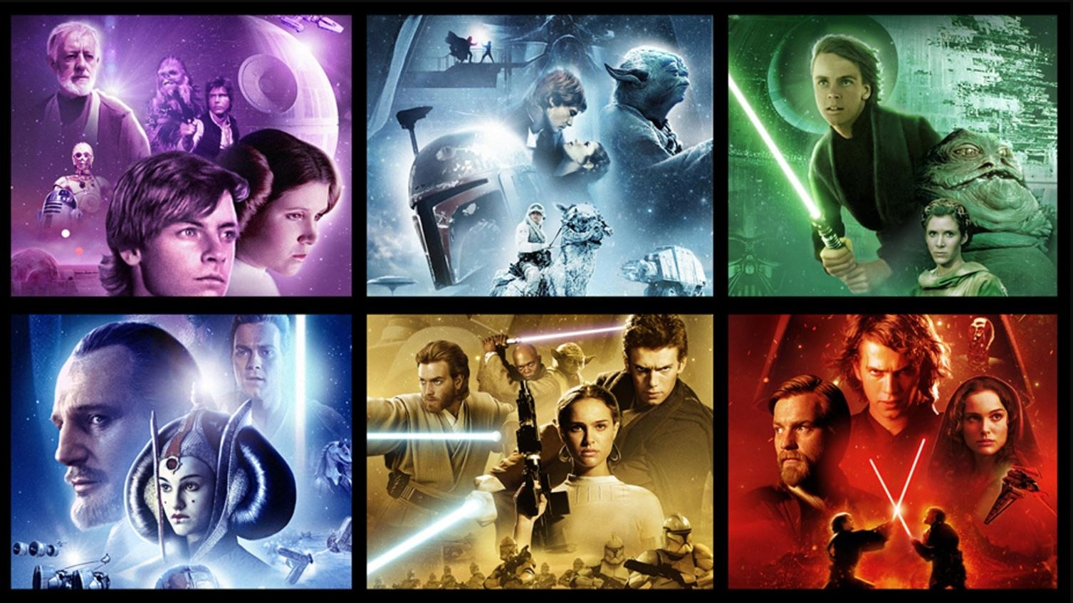 Watch Star Wars Movies Online The Six Movie Collection