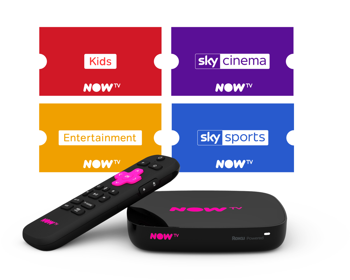 NOW TV Smart Box and TV Passes