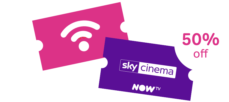 Sky Cinema Pass and Broadband