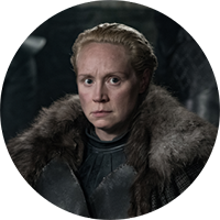 Watch  Gwendoline Christie as  Brienne of Tarth on NOWTV