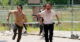 The Walking Dead season 3 episode 4, 'Killer Within'.